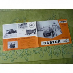 Renault Sinpar Castor R4650 1200, catalogue brochure