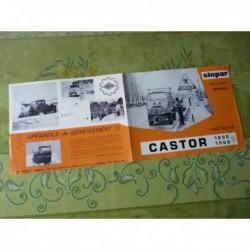 Renault Sinpar Castor R4650 1200, catalogue brochure