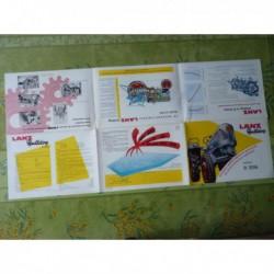 tracteur Lanz Bulldog D2016, catalogue brochure