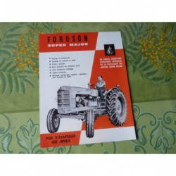 tracteur Fordson Super Major, catalogue brochure