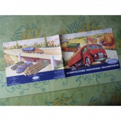 camion Ford 5T, 3.5T, V8, Cargo, catalogue brochure
