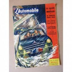 L'Automobile n°82, Microcar 3233 WO, Salon de Bruxelles 1953, Nouvel An, Renault Frégate