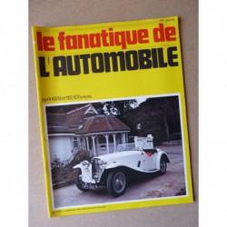 Le Fanatique n°115, Renault 8 Gordini, AC Competition 16/90, DB4 Aston Martin, Delahaye, Laubfrosch 4/12 PS