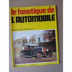 Le Fanatique n°120, Porsche 356, Derby, Volvo d'avant guerre, Rover, Bellanger, TASO Mathieson, Yacco Delphine