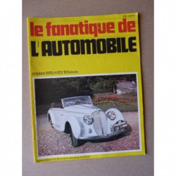 Le Fanatique n°121, Porsche 356, Derby, Rover, Ego, Omikron, Bellanger, Londres-Brighton