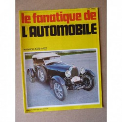 Le Fanatique n°122, Aston Martin DBR 1/300, Amilcar 8 cyl, Chenard & Walcker Mistral, Derby, Porsche en France