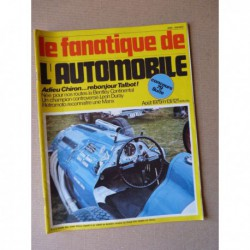 Le Fanatique n°131, Bentley Continental, Citroën Cars Ltd, De Coucy et Guérin Père et Fils, Yacco Delphine, Norton Manx