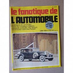 Le Fanatique n°142, De Dion Bouton, Simca Aronde, Simca 8, Peugeot 202, Renault Juvaquatre, Packard, Ferrari 250 GT