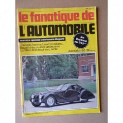 Le Fanatique n°155, Lancia Lambda, Bugatti Type 59/50B, Ferrari 365 GTB/4 Daytona, special Bugatti