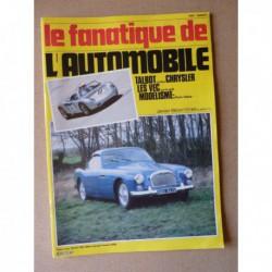 Le Fanatique n°172, Peugeot 403, Talbot Lago T26GS, Chrysler 300B, Toyota Celica Supra 2.8L, Derby, Didier Jellinek-Mercédès