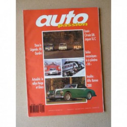 Auto Passion n°4, Renault 8 Gordini, Citroën SM, Jaguar XJ Coupe XJ6C XJ12C, Alfa Romeo 6C, Protos Matra, Hervé Charbonneau