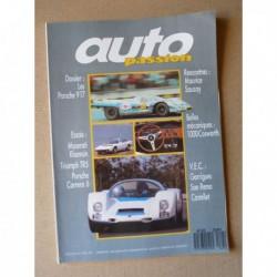 Auto Passion n°7, Triumph TR5, Maserati Khamsin, Porsche Carrera 6, Porsche 917, Maurice Sauzay