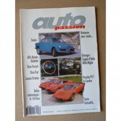 Auto Passion n°8, Ferrari Dino 246 GT, Fiat Spider Dino, Lancia Stratos, Alfa Romeo Giulietta Sprint Veloce, Porsche 917