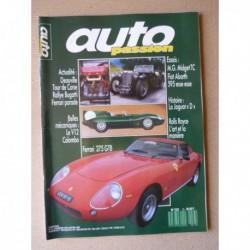 Auto Passion n°13, Ferrari 275 GTB, MG Midget TC, Fiat Abarth 595, V12 Colombo Ferrari, Jaguar type D, Hermann Lang