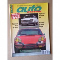 Auto Passion n°84, Porsche 911S 2.2L, Peugeot 204, Klausenrennen Memorial, Talmont Saint-Hilaire, Brooklands