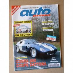 Auto Passion n°90, Cobra Daytona, Fittipaldi F7-1, Ferrari Squalo, Super Squalo, Carroll Shelby, Musée de Romorantin