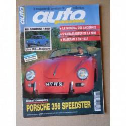 Auto Passion n°98, Porsche 356 Speedster, F1 rétro Dijon, Musée Henri Malartre, Jean-Pierre Richard