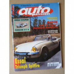Auto Passion n°110, Triumph Spitfire mk3, Sandford GS, Darmont Special, Porsche 917K, Graham Hill, Hervé Charbonneaux