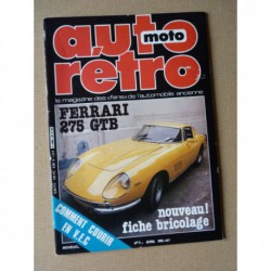 Auto Rétro n°9, Auburn 876 Speedster, Edsel, Ferrari 275 GTB, Lancia Fluvia 1600 HF, Harley Davidson