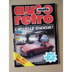 Auto Rétro n°12, Alfa Romeo Guilietta Spider, Desande, Ford Capri RS2600, MGA, Porsche 356, Triumph TR3