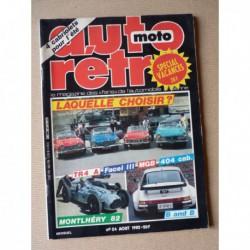 Auto Rétro n°24, Chrysler 300C, Facel Vega Facel III, Fiat 600, MGB 1800, Triumph TR4A IRS, Mercedes 230SL 250SL 280SL