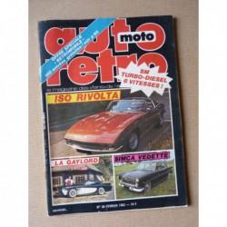Auto Rétro n°30, Iso-Rivolta, Citroën SM Turbo diesel Regembeau, Ford Cortina 1600E, Gaylord Gladiator, Simca Vedette