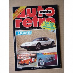 Auto Rétro n°40, Bitter SC, Buick Riviera, Honda S800, Ligier JS2, Peugeot 202, Renault Frégate, Rover P4, Guzzy Airone