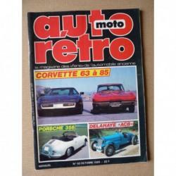 Auto Rétro n°62, Chevrolet, Delage Delahaye ACB, Porsche 356, Simca Aronde Montlhéry, Triumph 2000 2500, Suzuki RE 5 Wankel
