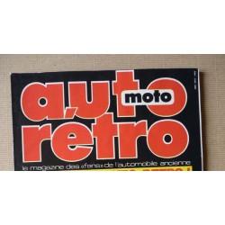 Auto Rétro n°72, Auburn Réplica, Bentley, Bugatti Jean, Fiat 500, Ford Compacte, Peugeot 403 cabriolet, Rover P4