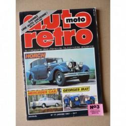 Auto Rétro n°77, Alfa Romeo Tubolare Zagato, Georges Irat, Horch, Jaguar Sovereign, Mercedes 220SE 250SE 280SE 300SE
