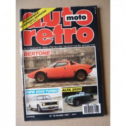 Auto Rétro n°78, AC Cobra 289, Alfa Romeo 6C, Bertone, BMW 735, 2002 Turbo, Lincoln, Rosengart Supertraction, Zundapp KS