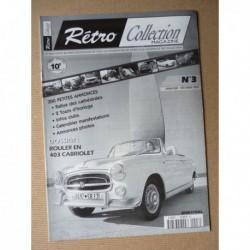 Rétro Collection n°3, Peugeot 403 cabriolet