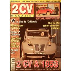 2CV Magazine n°26, 2cv A 1953