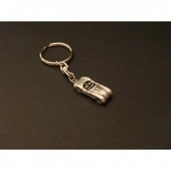 Porte-clés Jaguar C-Type, XK120-C, Type C, en étain