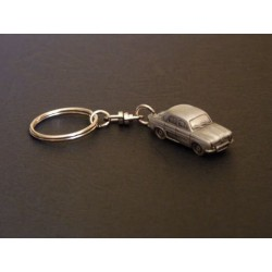 Porte-clés Renault Dauphine et Ondine, en étain 1/112e