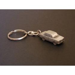 Porte-clés Renault 8 Gordini, R8G, en étain 1/112e