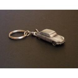 Porte-clés Citroën DS et ID (DS21, DS23, ID19), en étain 1/112e
