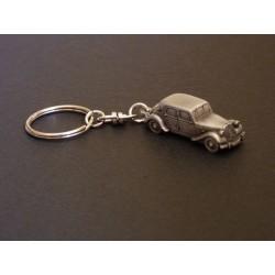 Porte-clés Citroën Traction 11, 11cv, en étain 1/112e