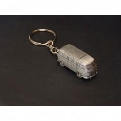 Porte-clés Volkswagen Combi T1, Microbus Samba, en étain 1/112e