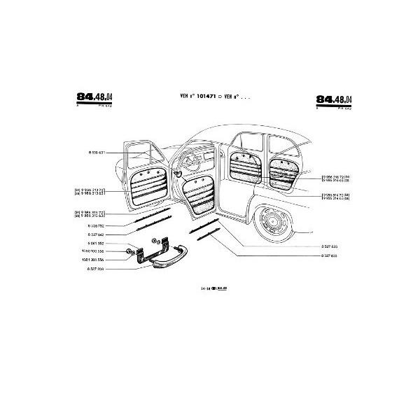renault dauphine gordini r1091  catalogue de pi u00e8ces