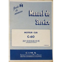 McCormick International Moteur CUB C-60, manuel de réparation