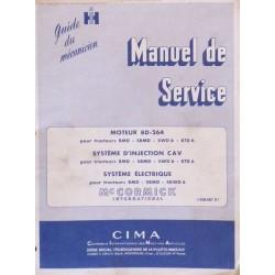 McCormick BMD, SBMD, SWD 6, BTD 6, manuel de réparation