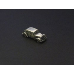 Miniature Citroën Traction 11, 11cv, en étain 1/112e