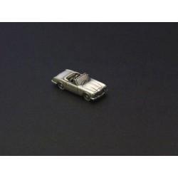 Miniature Facel Vega Facel III et Facellia, en étain 1/112e
