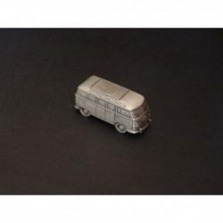 Miniature Volkswagen Combi T1, Transporter Samba, en étain 1/112e
