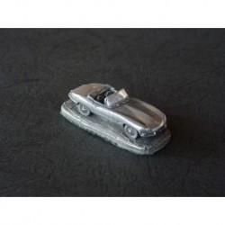 Miniature Autosculpt Jaguar Type E roadster, cabriolet