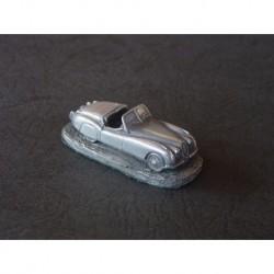 Miniature Autosculpt Jaguar XK120 roadster