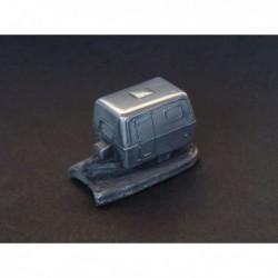 Miniature Autosculpt caravane Saab Saabo ou Adria, Eriba, Caravelair, Airstream, Trigano