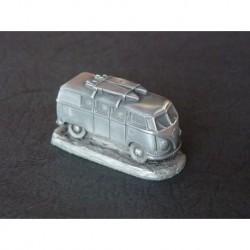 Miniature Autosculpt Volkswagen Combi T1 avec surfs