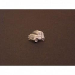 pin's Fiat 500, étain verni